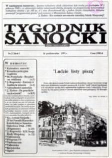 Tygodnik Sanocki, 1991, nr 22