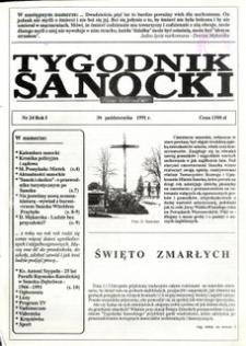 Tygodnik Sanocki, 1991, nr 24