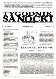 Tygodnik Sanocki, 1991. nr 25
