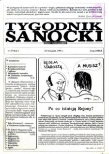Tygodnik Sanocki, 1991, nr 27