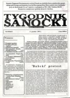 Tygodnik Sanocki, 1991, nr 30