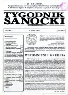 Tygodnik Sanocki, 1991, nr 31