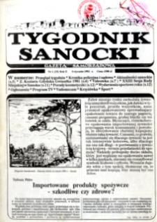 Tygodnik Sanocki, 1992, nr 1