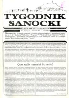 Tygodnik Sanocki, 1992, nr 2