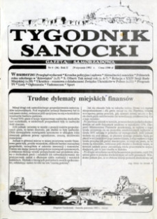 Tygodnik Sanocki, 1992, nr 4