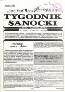 Tygodnik Sanocki, 1992, nr 6