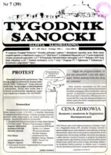 Tygodnik Sanocki, 1992, nr 7