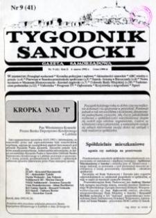 Tygodnik Sanocki, 1992, nr 9