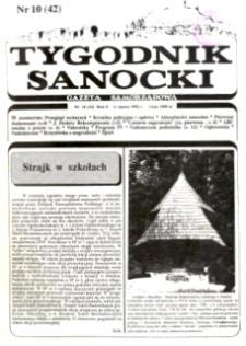 Tygodnik Sanocki, 1992, nr 10