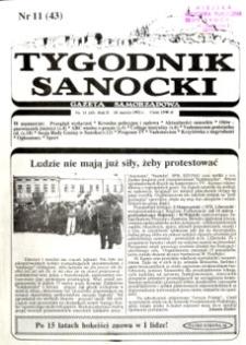 Tygodnik Sanocki, 1992, nr 11