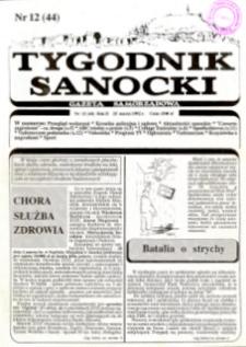 Tygodnik Sanocki, 1992, nr 12