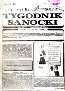 Tygodnik Sanocki, 1992, nr 18
