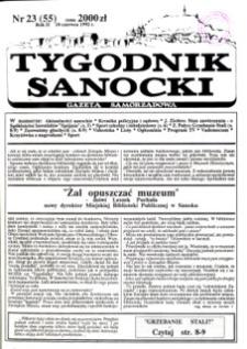 Tygodnik Sanocki, 1992, nr 23