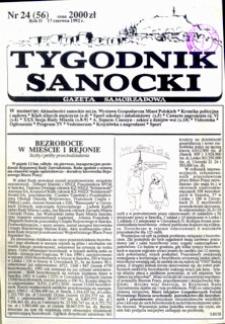 Tygodnik Sanocki, 1992, nr 24