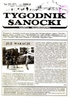 Tygodnik Sanocki, 1992, nr 25