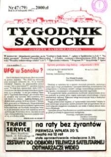 Tygodnik Sanocki, 1992, nr 47