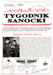 Tygodnik Sanocki, 1992, nr 50