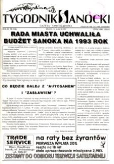 Tygodnik Sanocki, 1993, nr 3