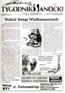 Tygodnik Sanocki, 1993, nr 4