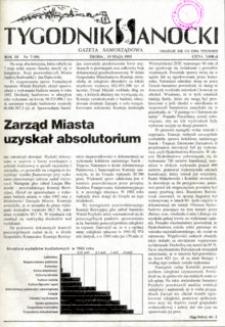 Tygodnik Sanocki, 1993, nr 7