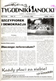 Tygodnik Sanocki, 1993, nr 13