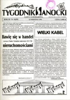 Tygodnik Sanocki, 1993, nr 16