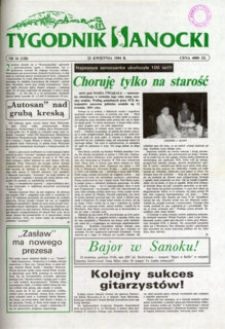 Tygodnik Sanocki, 1994, nr 16