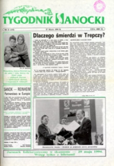 Tygodnik Sanocki, 1994, nr 21