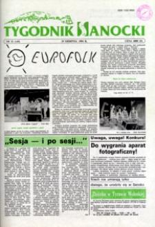 Tygodnik Sanocki, 1994, nr 33