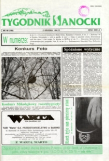 Tygodnik Sanocki, 1994, nr 48