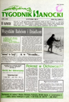 Tygodnik Sanocki, 1995, nr 3