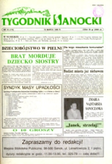 Tygodnik Sanocki, 1995, nr 10