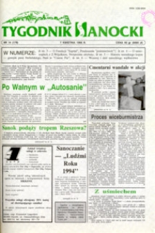 Tygodnik Sanocki, 1995, nr 14