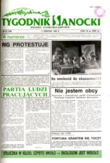 Tygodnik Sanocki, 1995, nr 32