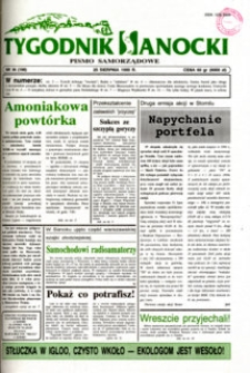 Tygodnik Sanocki, 1995, nr 34