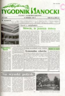 Tygodnik Sanocki, 1995, nr 38