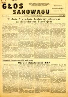 Głos Sanowagu, 1954, nr 4