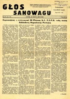 Głos Sanowagu, 1955, nr 3