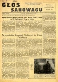 Głos Sanowagu, 1955, nr 4